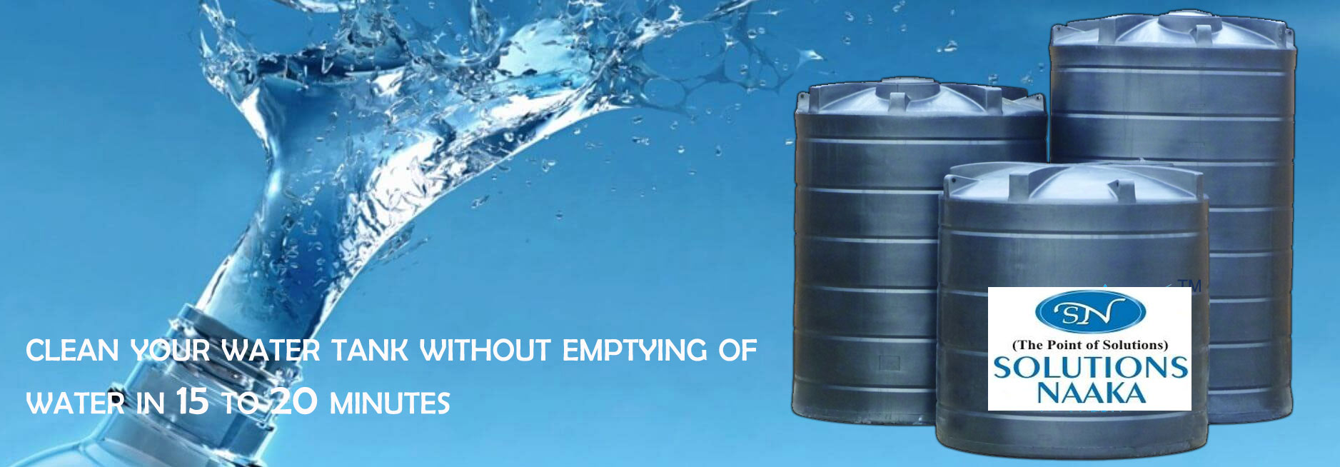 Water Tank Cleaning Services in Delhi